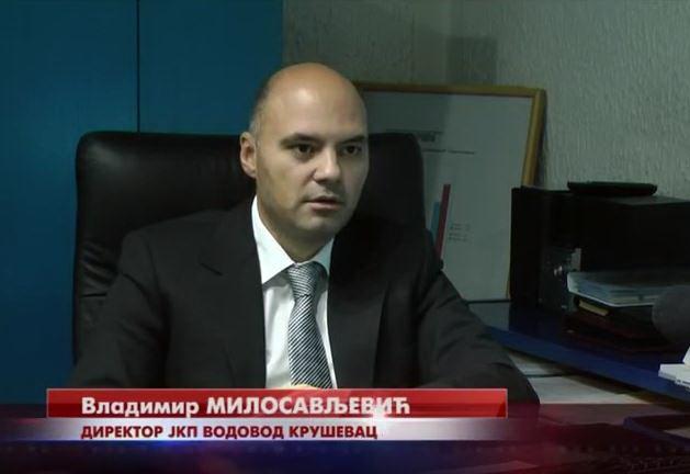 Direktor Vodovoda Kruševac Vladimir Milosavljević: Na vrhu lestvice uspešnih