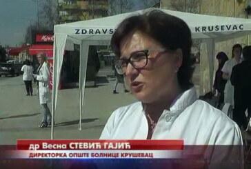 Štandovi u gradu povodom Svetskog dana borbe protiv raka dojke