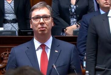 Aleksandar Vučić položio zakletvu i stupio na dužnost predsednika Republike