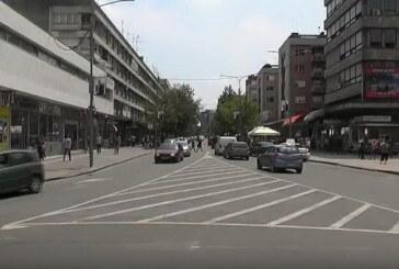 Pešačka zona u Kruševcu tokom leta