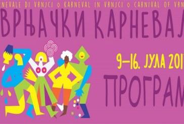 Centralna manifestacija Vrnjačkog karnevala – povorka karnevalskih grupa