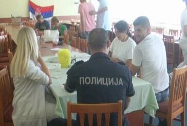 U Policijskoj uprvi Kruševac treća ovogodišnja akcija dobrovoljnog davanja krvi