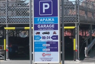 Javna garaža besplatno do 1. avgusta