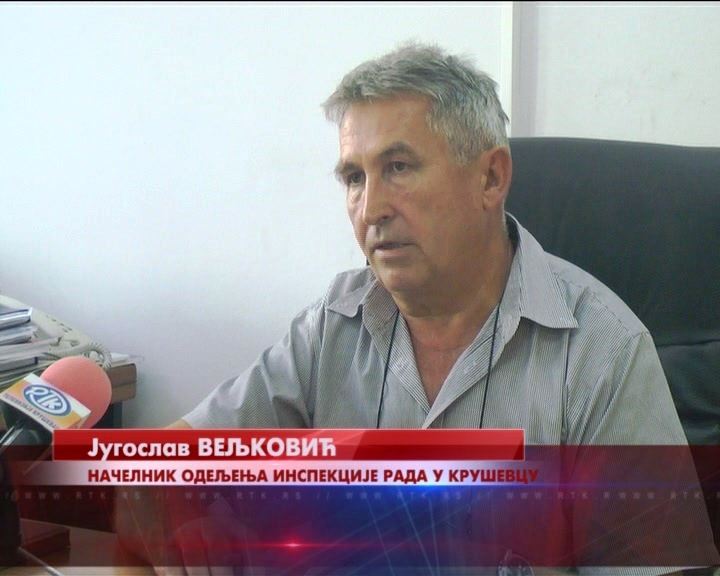 """Za prvih šest meseci Inspekcija rada u Kruševcu zatekla 342 radnika """"na crno"""""""