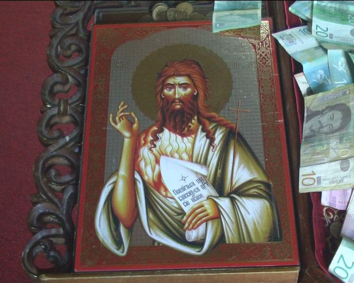 Danas se proslavlja rođenje Svetog Jovana Krstitelja