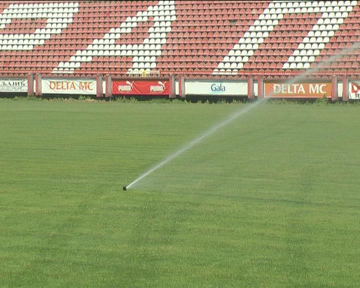 FK Napredak dobio automatski sistem za zalivanje terena