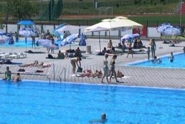 Posećenost otvorenih bazena zadovoljavajuća, voda higijenski ispravna