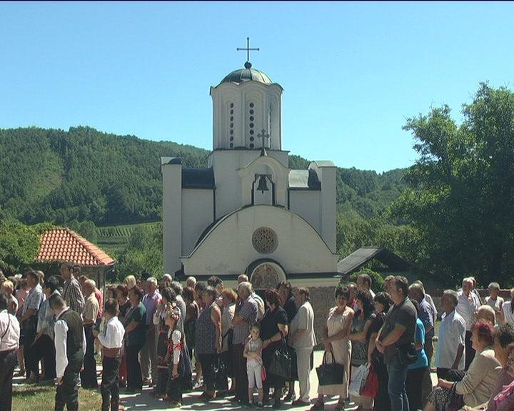 Svetosavska bašta posvećena manastiru Pleš, u Gornjoj Župi