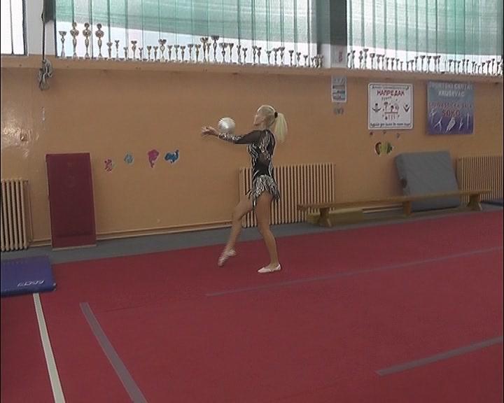 """Gimnastičarke kluba """"Nika"""" uspešne na svim takmičenjima"""