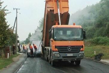 Postavljanje novog sloja asfalta u Mrzenici