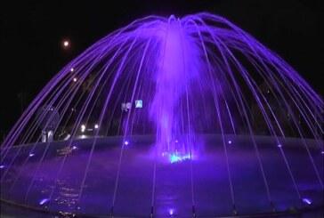 Proradila fontana na kružnom toku u Novoj Kosovskoj ulici,  kod Dečjeg dispanzera