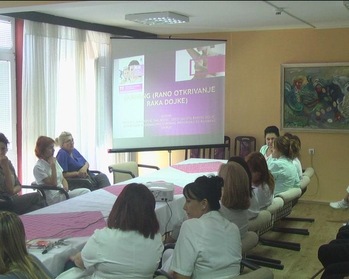 Tribina o prevenciji karcinoma dojke i grlića materice održana u Gerontološkom centru