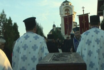 U crkvi Pokrova Presvete Bogorodice dočekane mošti svetih tumanskih čudotvoraca Zosima i Jakova Novog