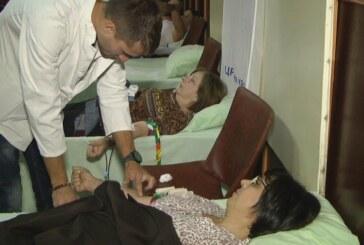 Prva gradska Oktobarska akcija dobrovoljnog davanja krvi, prikupljeno 45 jedinica