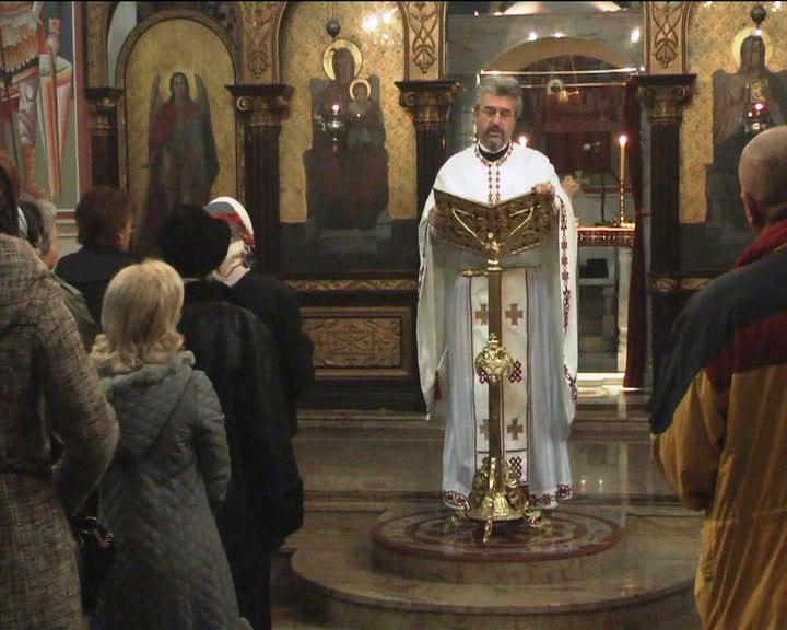 U Sabornom hramu Svetog Đorđa u Kruševcu proslavljen je Đurđic, slava brojnih srpskih domaćina
