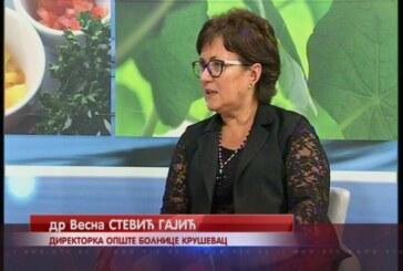 Opšta bolnica Kruševac aplicirala  za sredstva Kancelarije za javna ulaganja