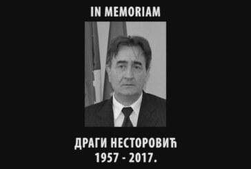 IN MEMORIAM: Dragi Nestorović, 1957-2017.