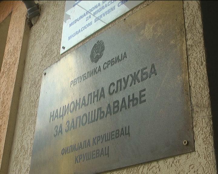 Broj nezaposlenih u Kruševcu u poslednje dve godine se permanentno smanjuje