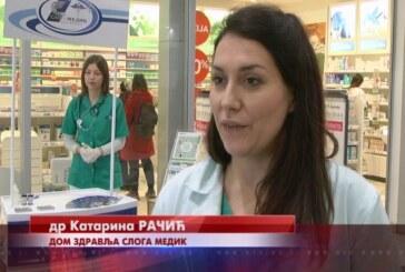 Dom zdravlja Sloga medik organizovao besplatno merenje krvnog pritiska i šećera u krvi
