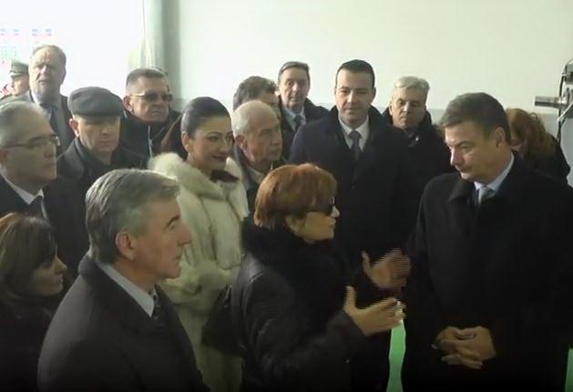 Ministar Goran Knežević pustio u rad novi pogon u Fabrici maziva