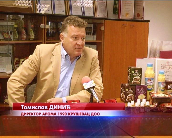 Porodična Firma Aroma 1990 Kruševac DOO – jedna od najuspešnijih u regionu