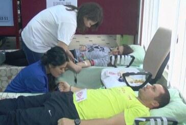 """Akcija dobrovoljnog davanja krvi """"Budi human, daj krv"""""""