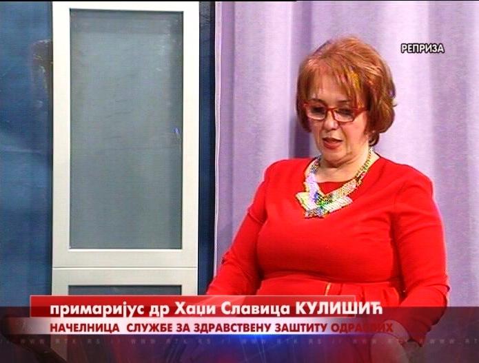 """Dr Hadži Slavica Kulišić u emisiji """"Svetosavska bašta"""""""