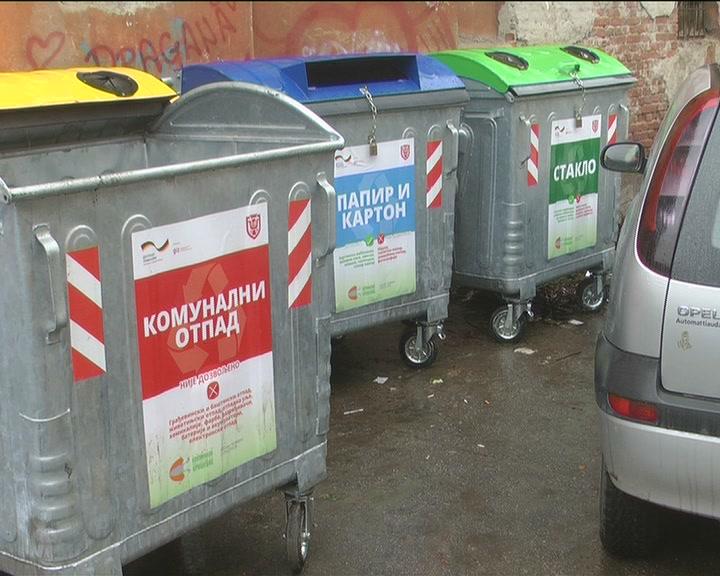 U centru Kruševca  postavljeni kontejneri za prikupljanje čvrstog komunalnog otpada