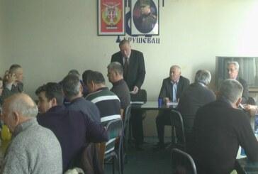 Održana godišnja Skupština rezervnih vojnih starešina Kruševca