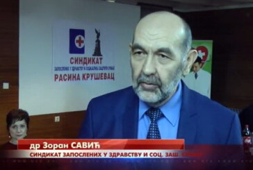 Poseta dr Zorana Savića, predsednika Sindikata zaposlenih u zdravstvu i socijalnoj zaštiti Srbije