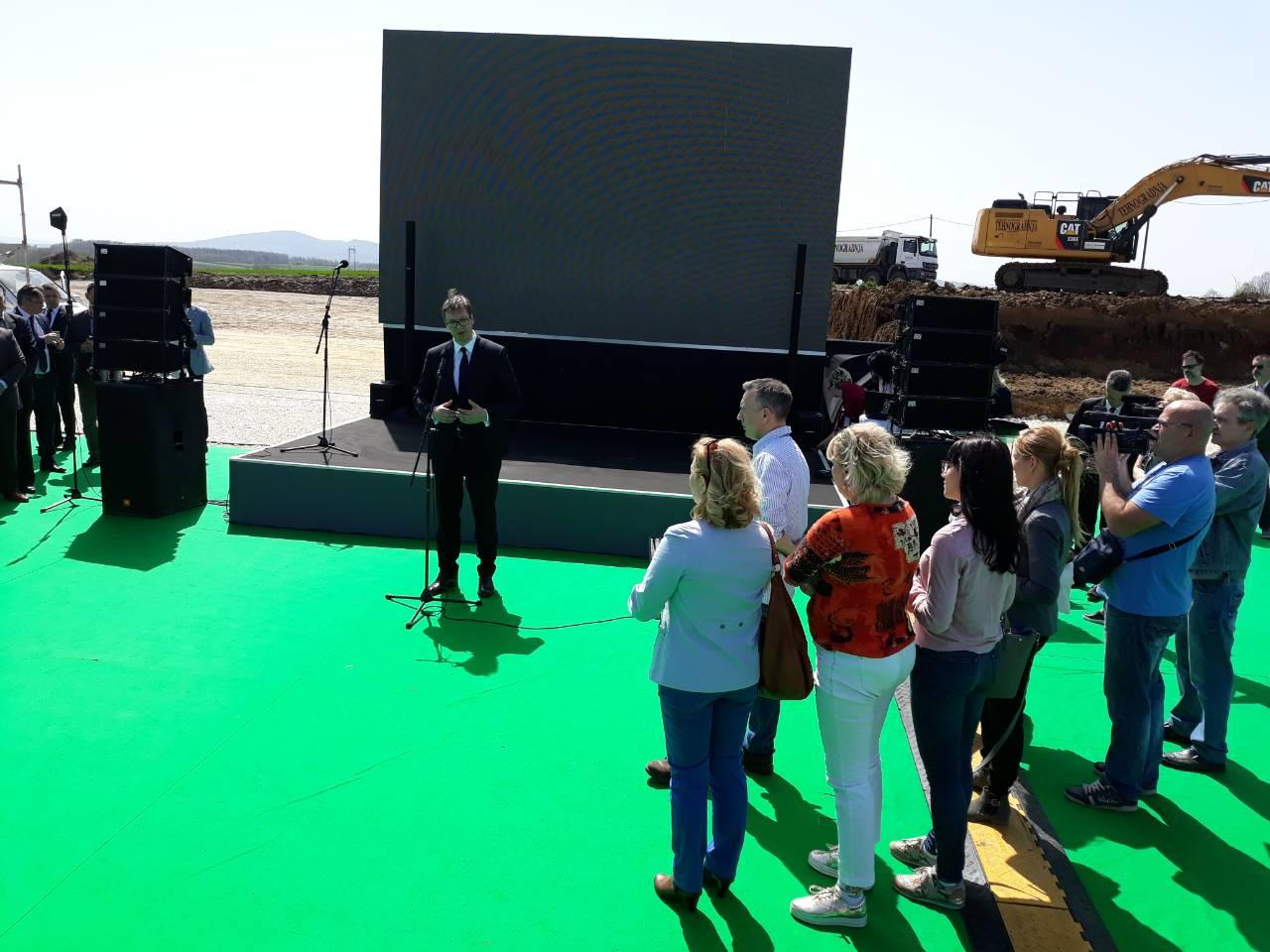 """Industrijski kompleks """"Majnd park"""" jedna od najvećih investicija u Srbiji"""