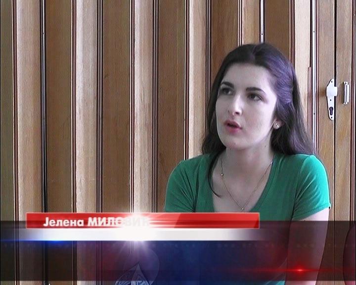 Kruševljanka Jelena Milović druga na Republičkom takmičenju iz biologije