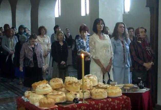 Sveta Matrona Blažena Moskovska Čudotvorka svečano proslavljena u Manastiru u Bošnjanu