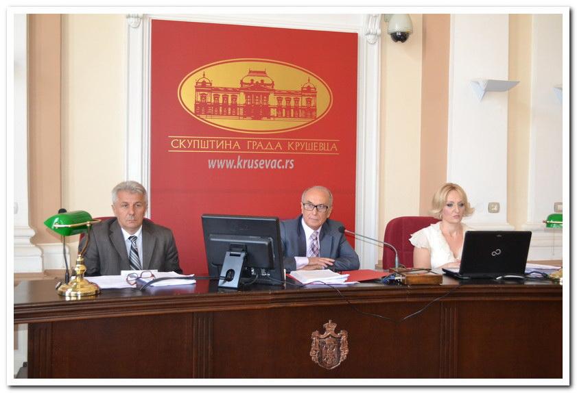 Održana 16. Skupština Grada Kruševca, usvojen rebalans budžeta za 2018.