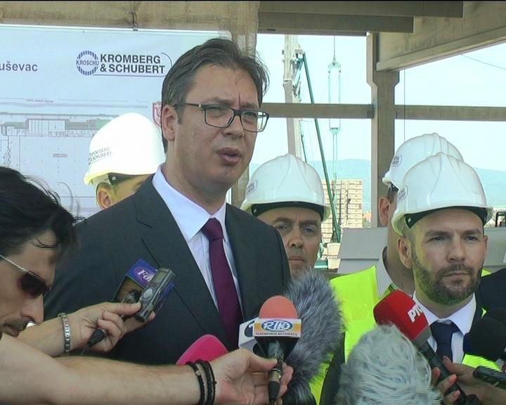 Svečanom otvaranju fabrike Kromberg i Šubert prisustvovaće predsednik Vučić, vlasnik kompanije i ambasador Nemačke