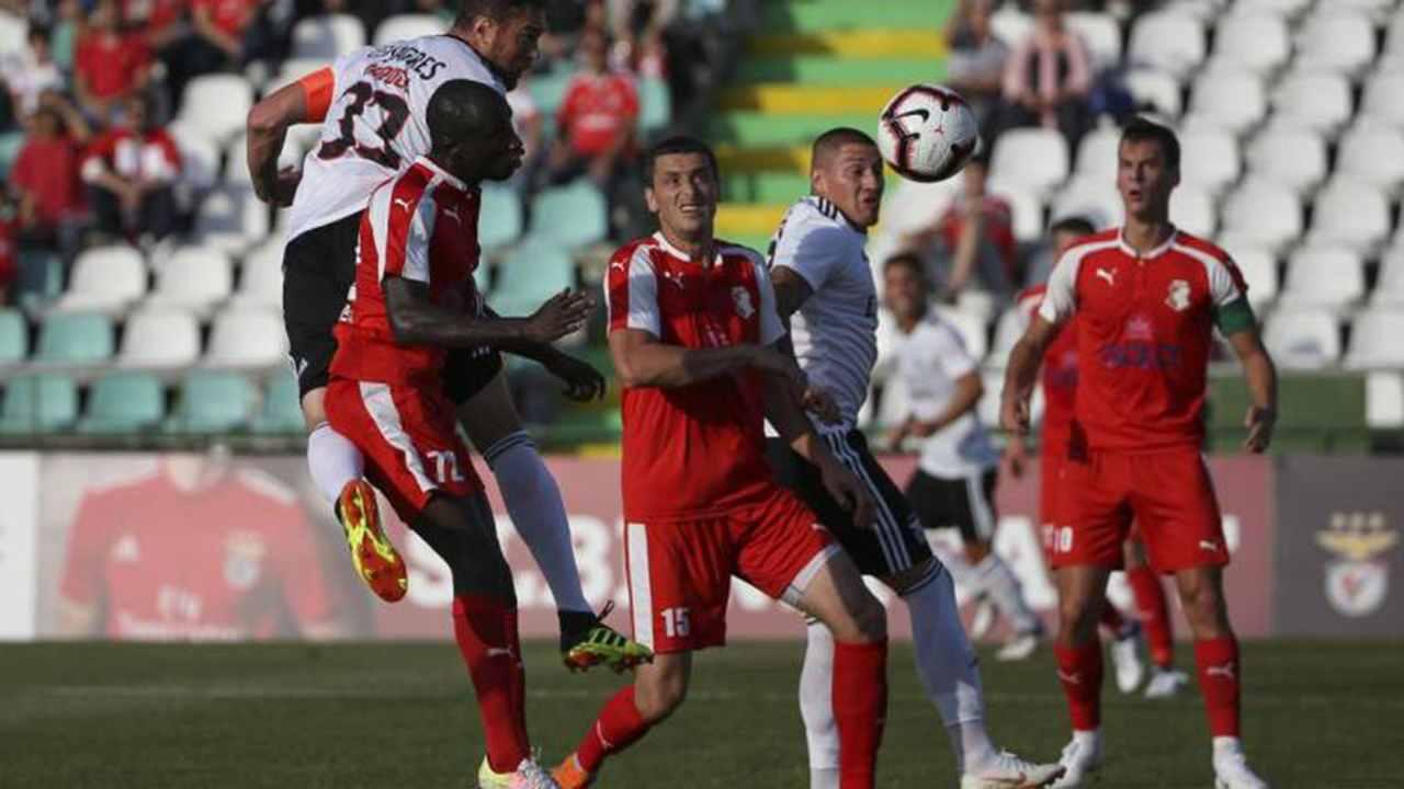 FK Napredak poražen od Benfike (3:0)