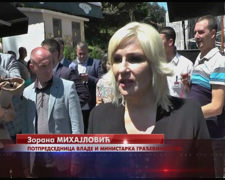 ZORANA MIHAJLOVIĆ za RTK: Izgradnja auto-puta od Pojata do Preljine počeće na proleće iduće godine