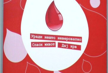 Kruševački Crveni krst nastavlja sa realizacijom aktivnosti i organizacijom akcija dobrovoljnog davanja krvi