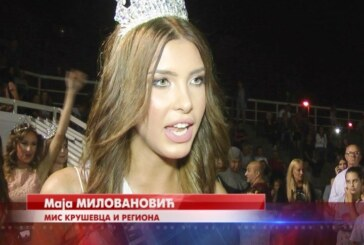 Maja Milovanović Mis Kruševca i regiona