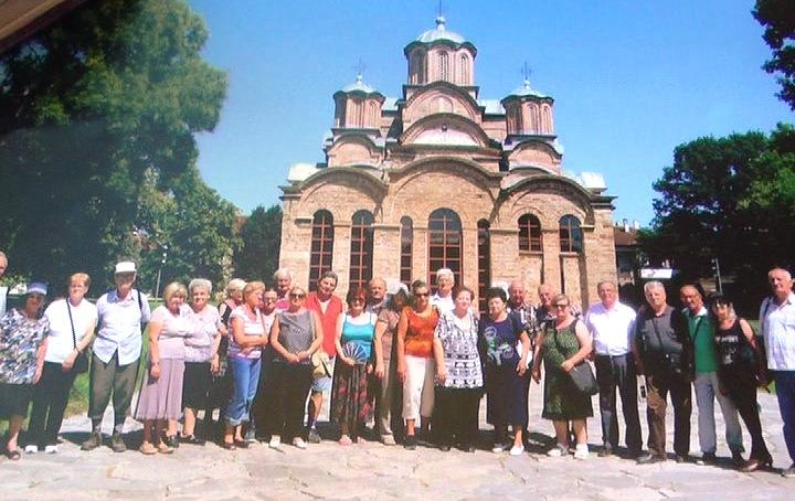 Kruševački penzioneri obišli manastire na Kosovu i Metohiji