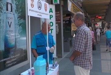 Ulična akcija kontrole šećera i krvnog pritiska: Dosta Kruševljana nisu ni znali da imaju povišen šećer