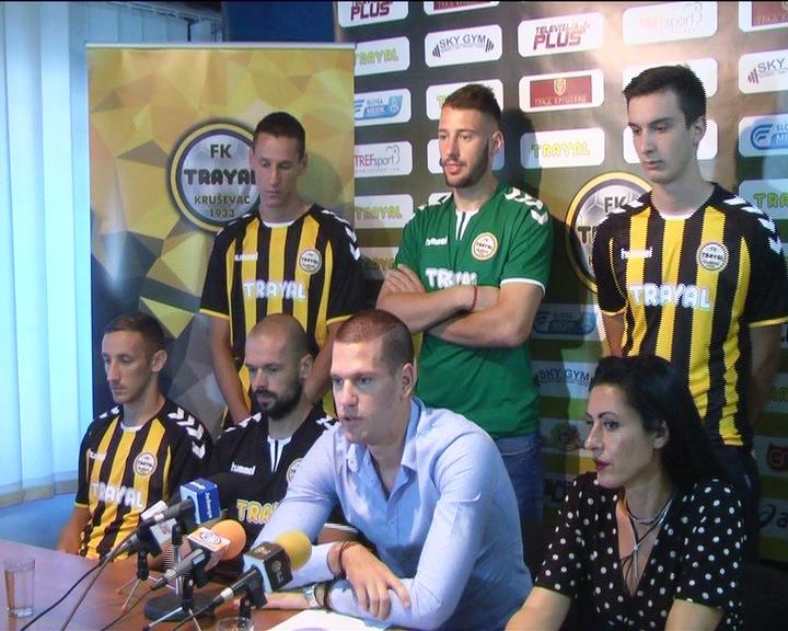 FK Trajal spreman za takmičenje Prve lige, predstavljeno sedam novih igrača