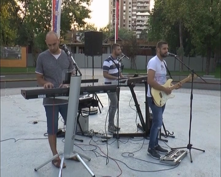 Koncert u Pionirskom parku u organizaciji Srpske napredne stranke