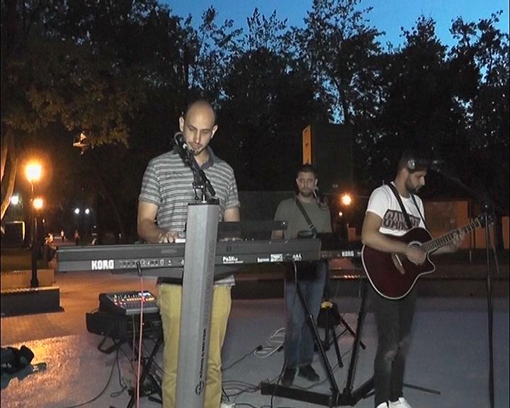 Koncert u Pionirskom parku