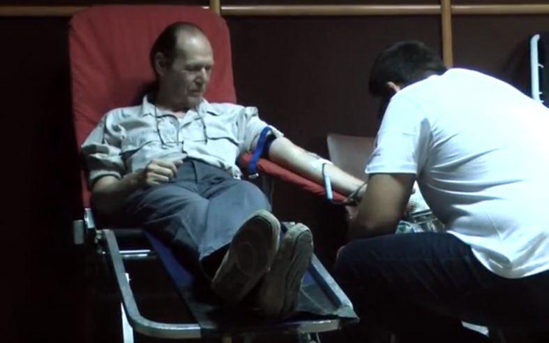 Gradska organizacija rezervih vojnih starešina organizovala petu akciju dobrovoljnog davanja krvi