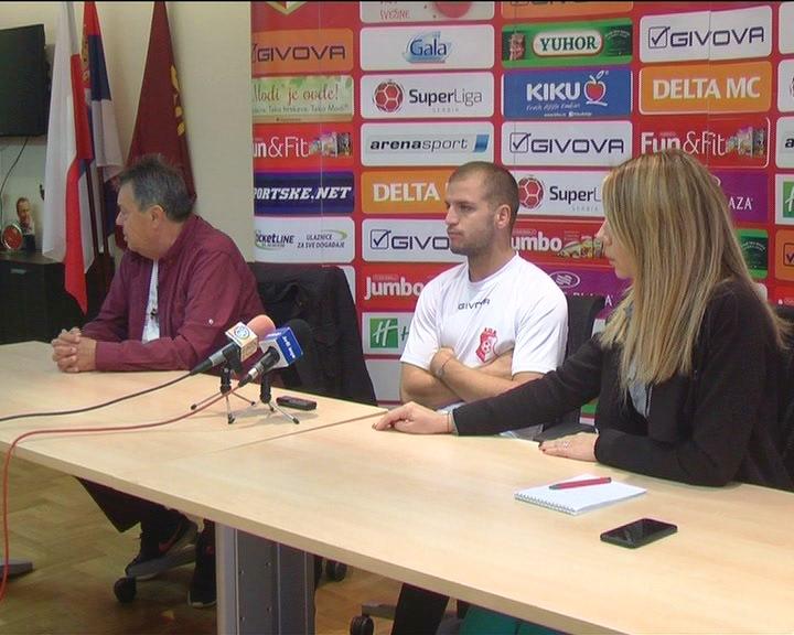KUP SRBIJE: U FK Napredak očekuju pozitivan rezultat u sredu protiv Borca u Čačku