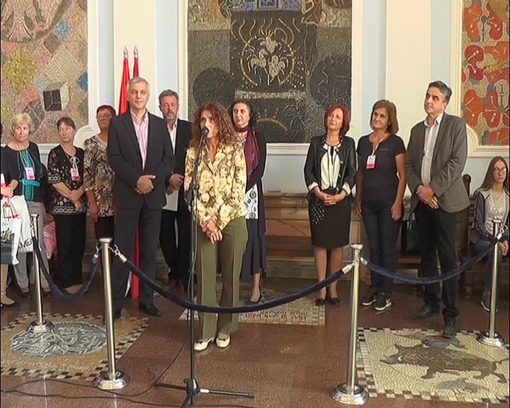 U Gradskoj upravi održan prijem za učesnike Međunarodnog dečijeg festivala