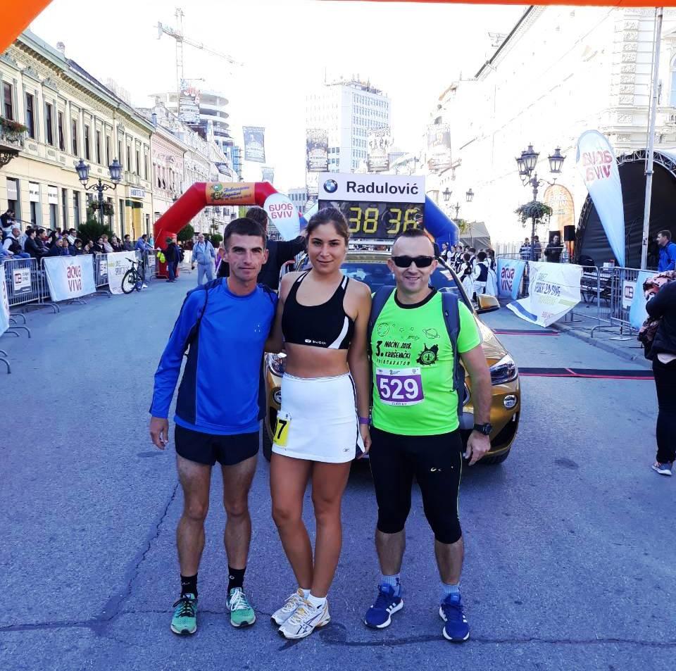 Maja Milosavljević treća na Državnom prvenstvu u maratonu u Novom Sadu