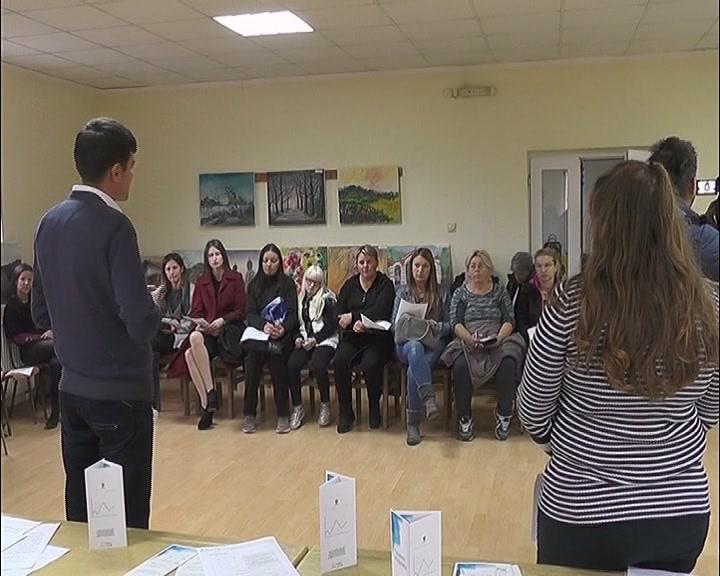 Promocija obuke za rad na  računarima za žene u Jasici i Čitluku