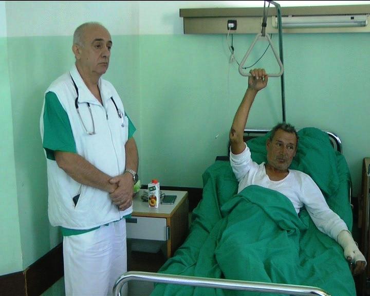 Stabilno stanje dvojice pacijenata koji su, posle nesreće na auto-putu kod Jagovine, na odeljenju kruševačke Ortopedije